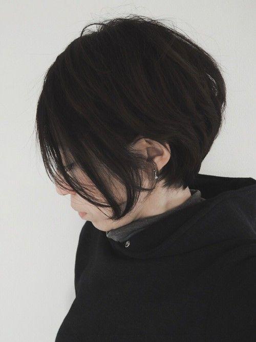 【2018年春夏】黒髪ショート・ボブのオススメの髪型・アレンジ34選