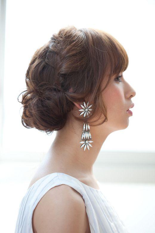 【ショート〜ロング】結婚式のアップヘアでのおすすめの髪型30選