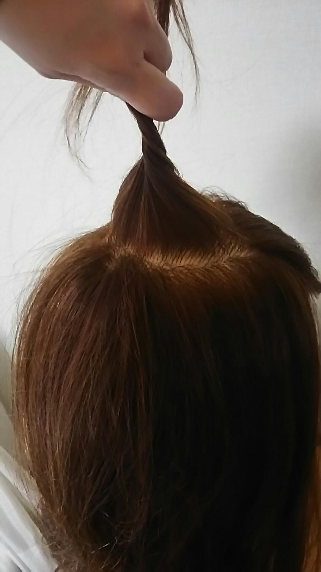 ボブ 盛り髪 やり方
