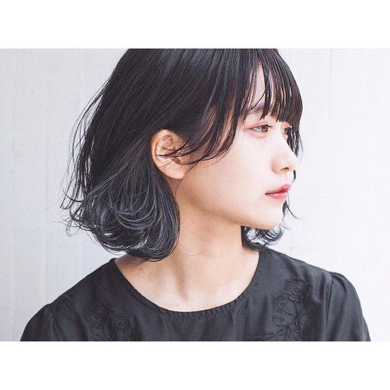 黒髪 ヘアスタイル検索結果 Haircatalog Jp ヘアカタログ Jp つぎ